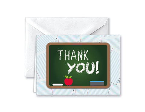School Thank You Note Cards