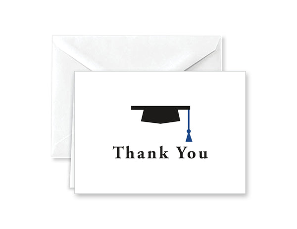 Graduation Cap Thank You Cards