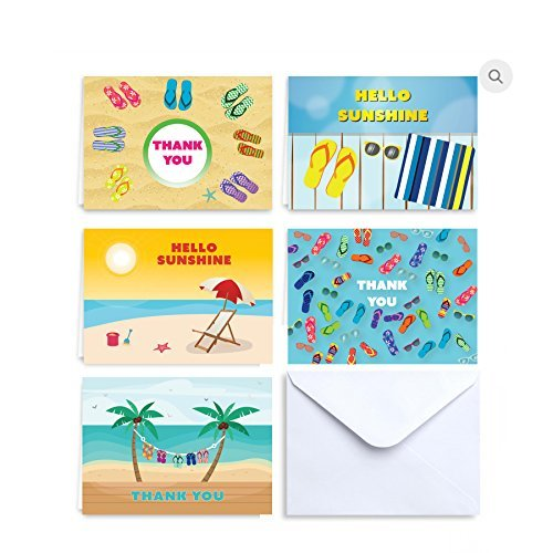 Hello Sunshine Summer Notes and Thank You Cards