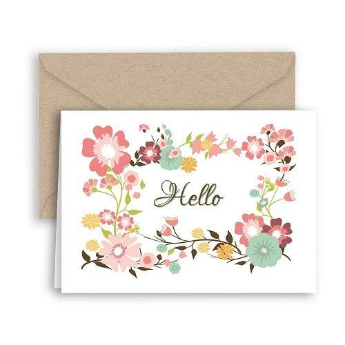 Hello Wildflowers Note Cards