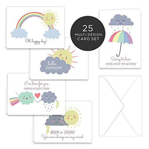 Weather Greetings Petite Note Cards