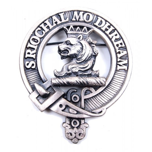 Clan Crest Cap Badge