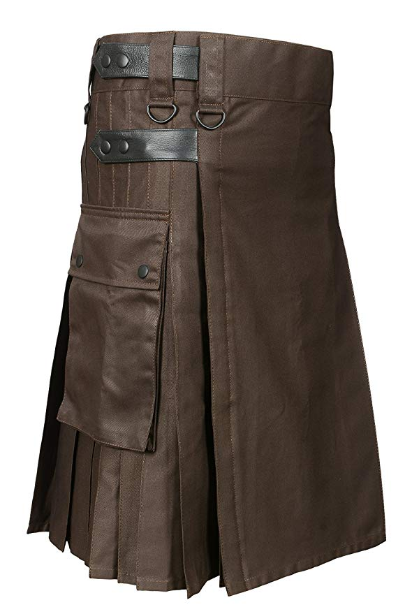 Brown Utility Kilt