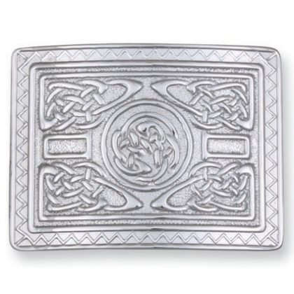 Celtic Square Kilt Belt Buckle