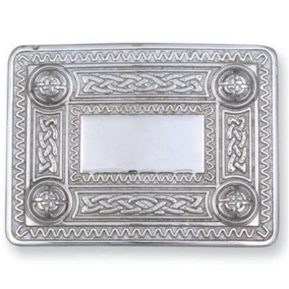 Celtic Domes Kilt Belt Buckle