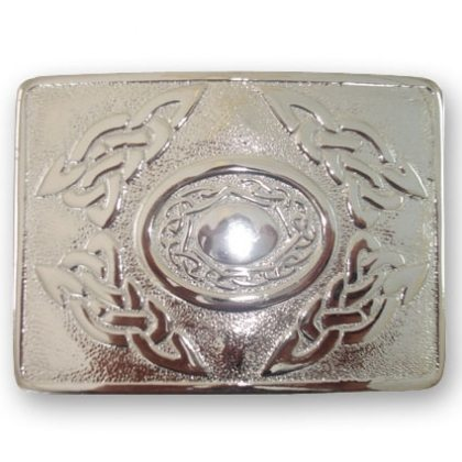 Celtic Knots Kilt Belt Buckle