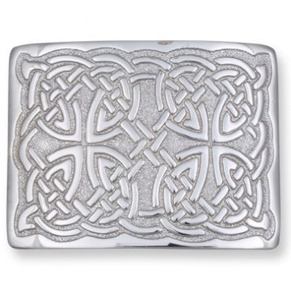 Full Celtic Knots Kilt Belt Buckle