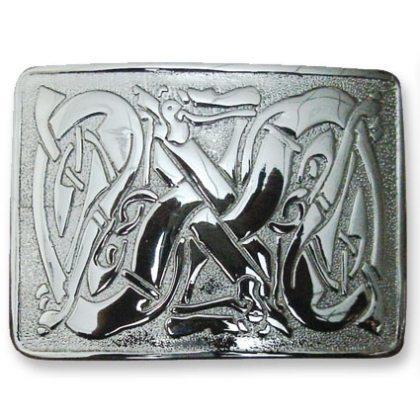 Celtic Dragon Kilt Belt Buckle