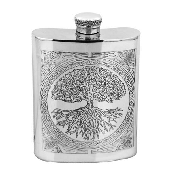 Celtic Design Tree of Life 6oz Pewter