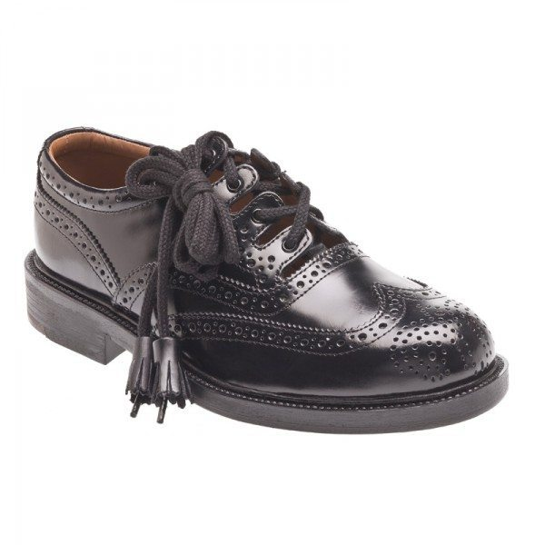 Black Economy Brogues