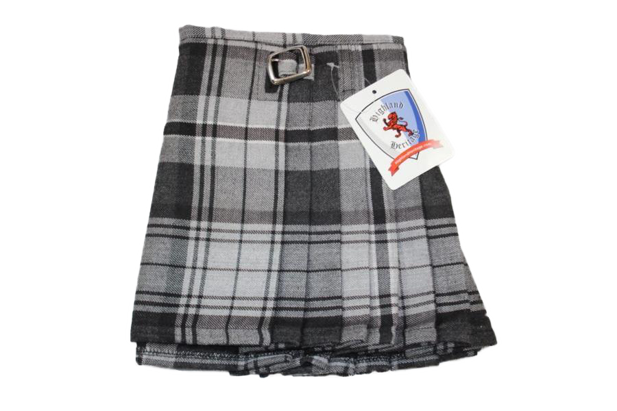 Grey Hamilton Child's Kilt