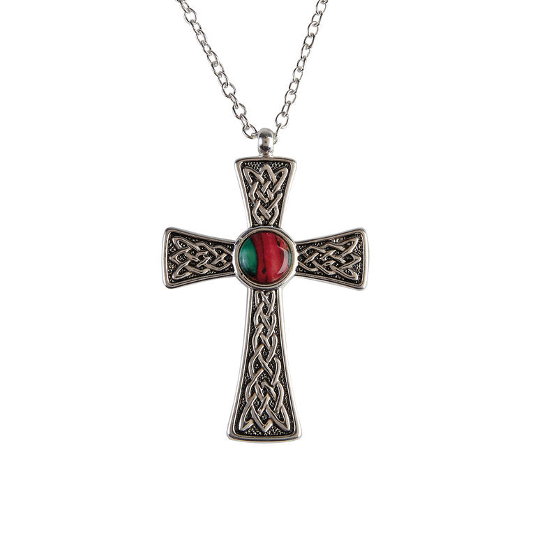 Heathergems Celtic Cross Pendant
