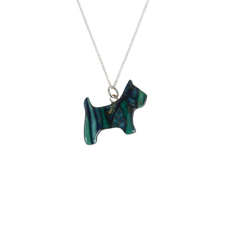 Heathergems Scottie Necklace
