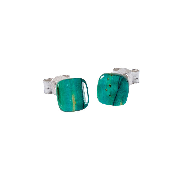 Heathergems Square Stud Earrings
