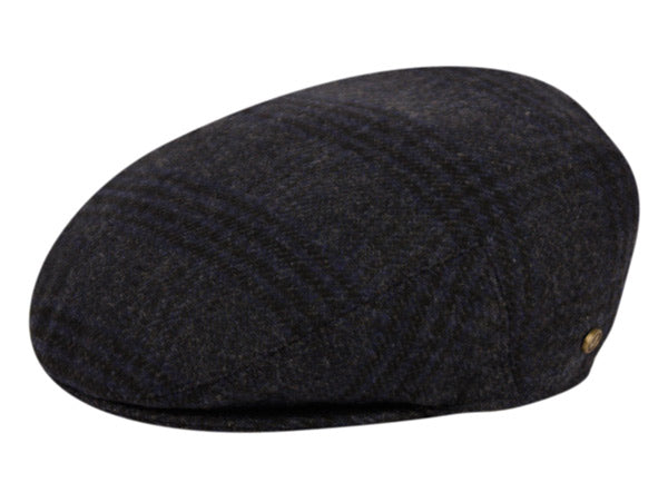 Wool Plaid Cap