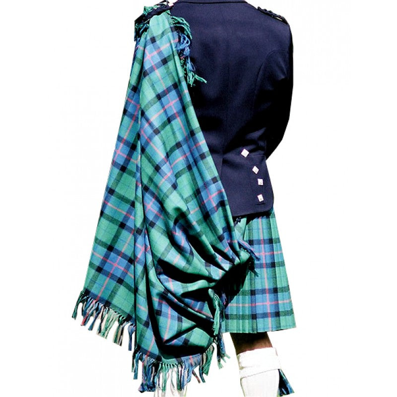 Tartan Clan Fly/Shoulder Plaids