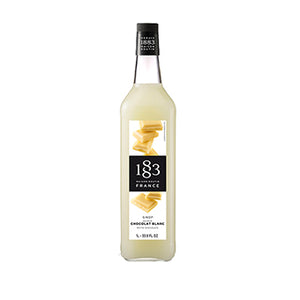 SIROUP JARABE 1883 WHITE CHOCOLATE  1 LITRO