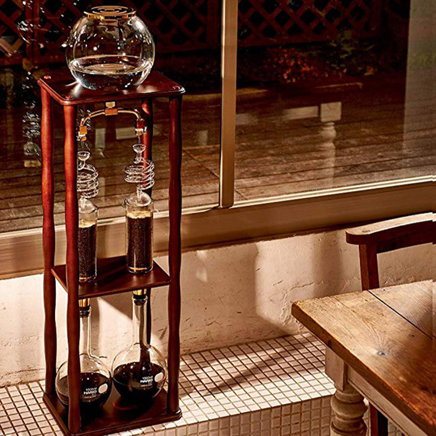 CAFETERA TORRE HARIO V60 DOBLE COLD DRIP