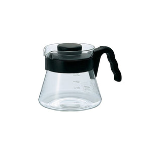 JARRA SERVER DECANTER 450ML 01 MANGO ABIERTO NEGRO HARIO