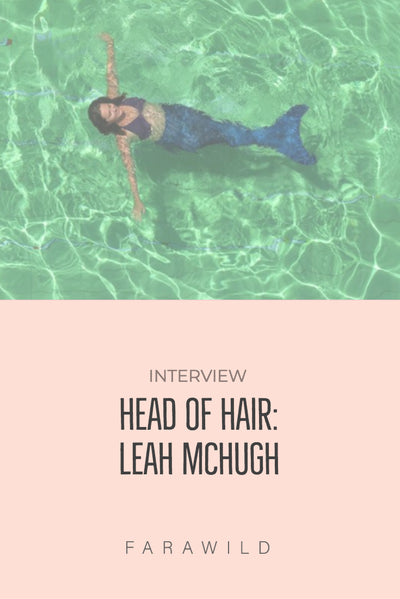 Leah Mchugh Head of hair natural travel powder shampoo