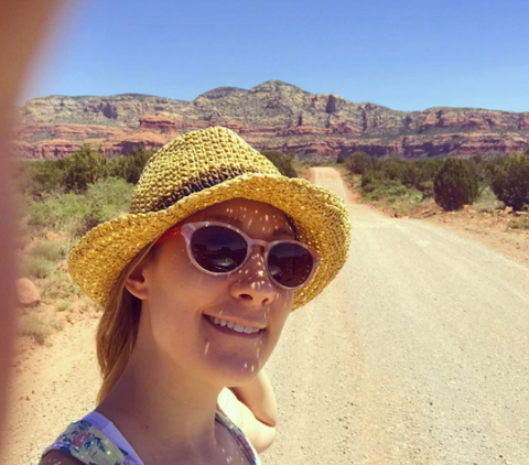 Meredith Norwood, creator of Farawild, mindful modern female nomad travel gear and accessories