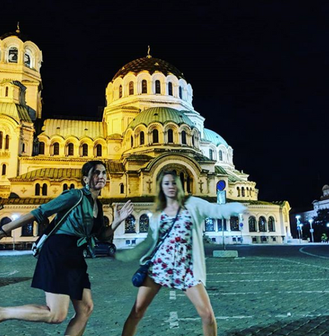 digital nomad girls in sofia bulgaria