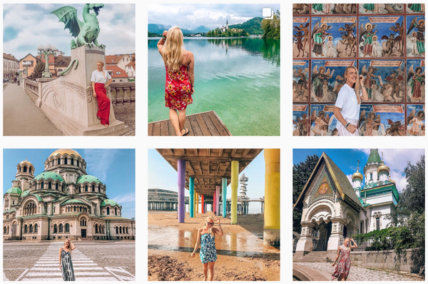 Travel Instagrammers Life! Fashionable and Ethical
