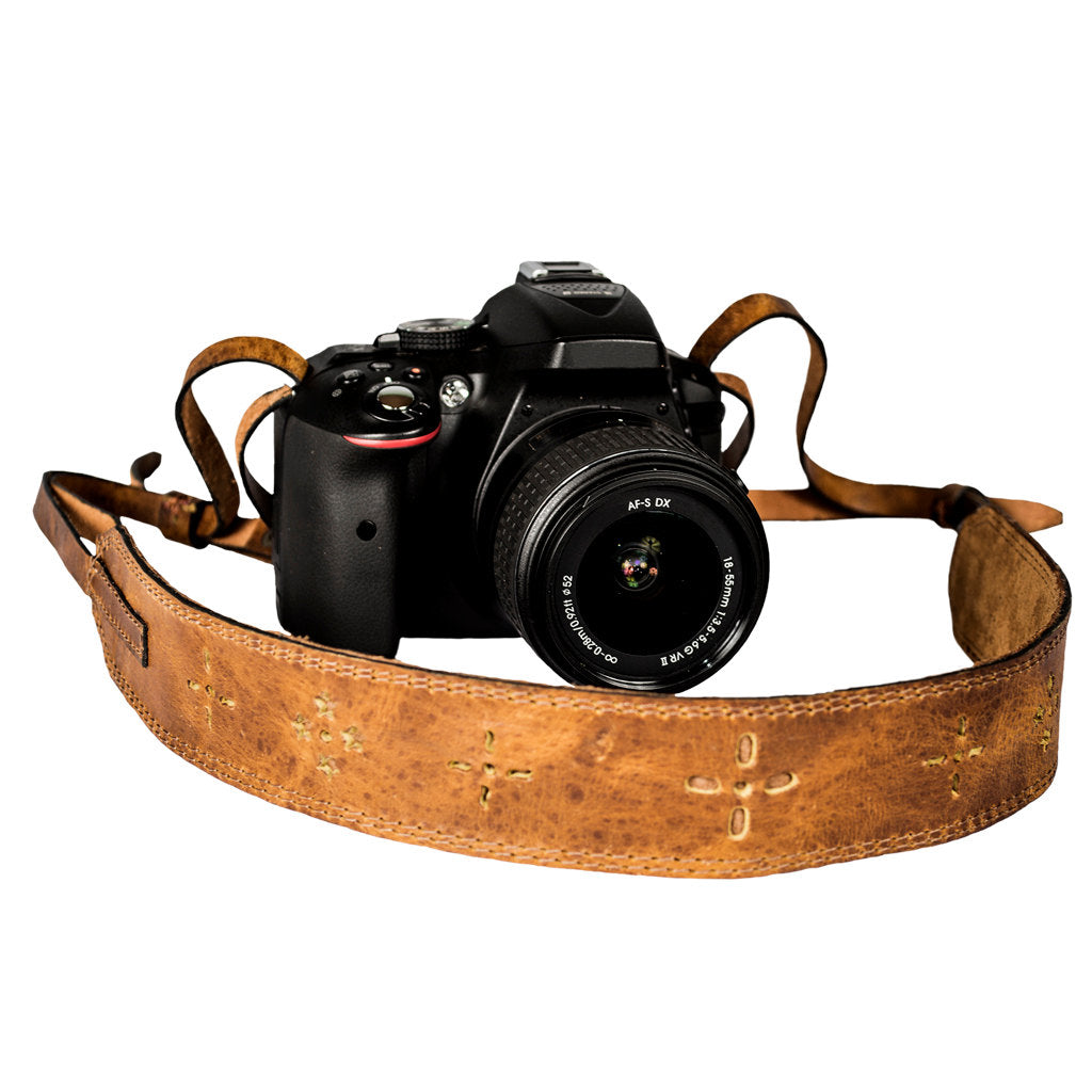 DSLR Leather Camera Strap