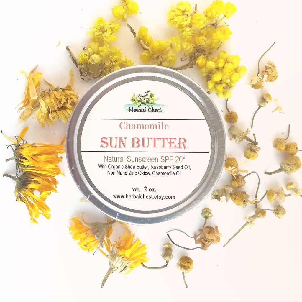 Natural Chamomile Sun Butter - SPF 20