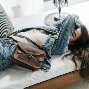 Laguna Leather Crossbody Bag