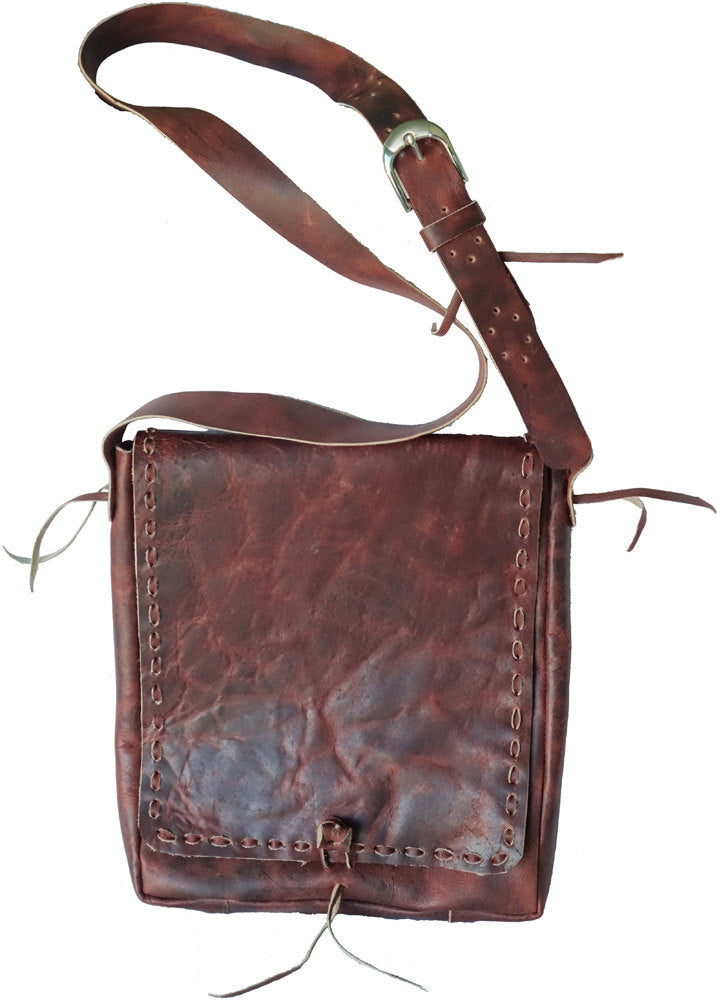 Creative Traveler Leather Satchel