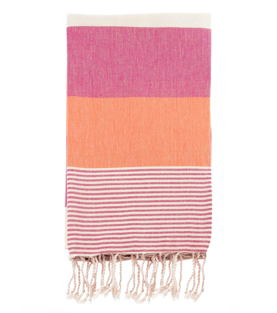 Multi Color 100% Cotton Turkish Towel