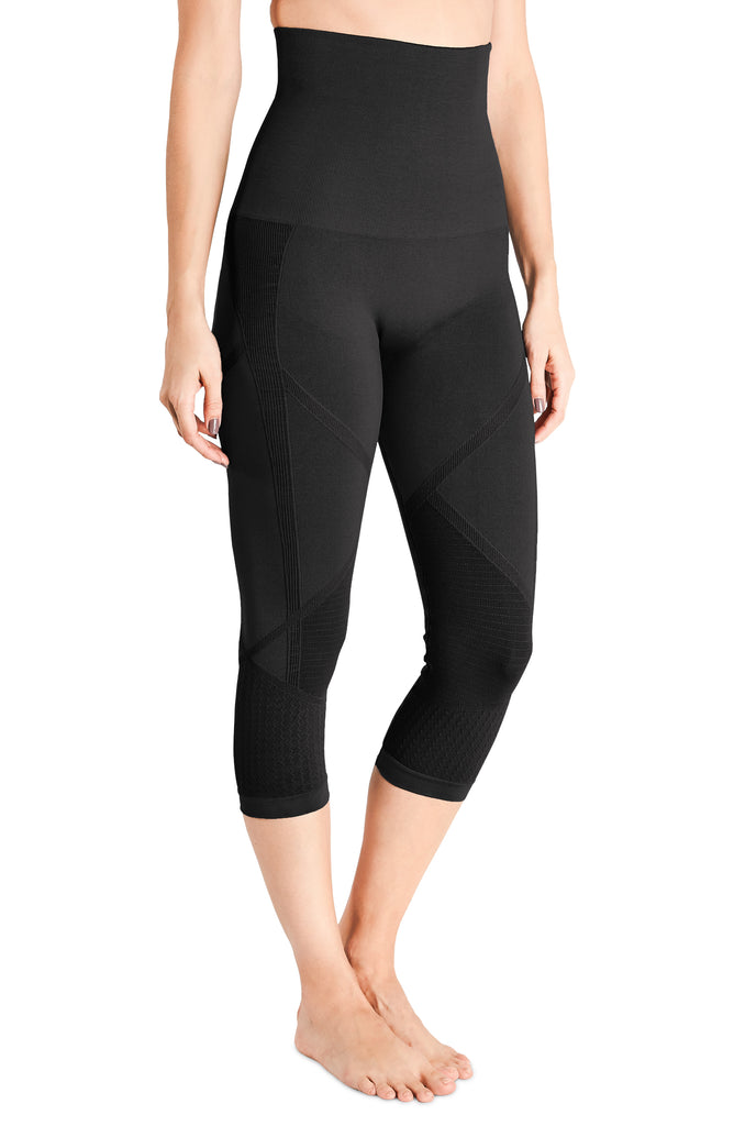 Belly Bandit®Mother Tucker® Active Capri Leggings