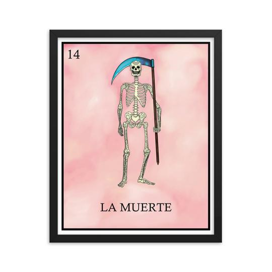 La Muerte Loteria calavera skeleton day of the dead by pilar grother