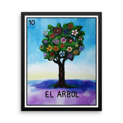 El Arbol Loteria in Day of the Dead design by Pilar Grother