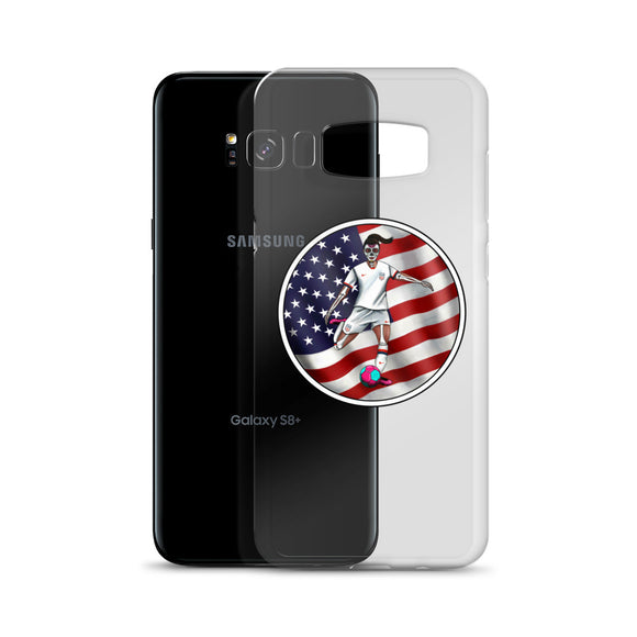 La Futbolista USA Women's Soccer Samsung case by Pilar Grother