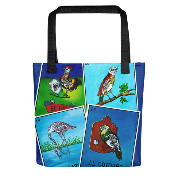 Los Pajaros Loteria All-Over Tote bag