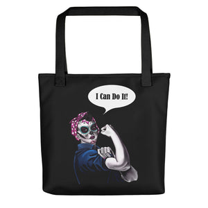 Rosie the Riveter All-over Tote bag