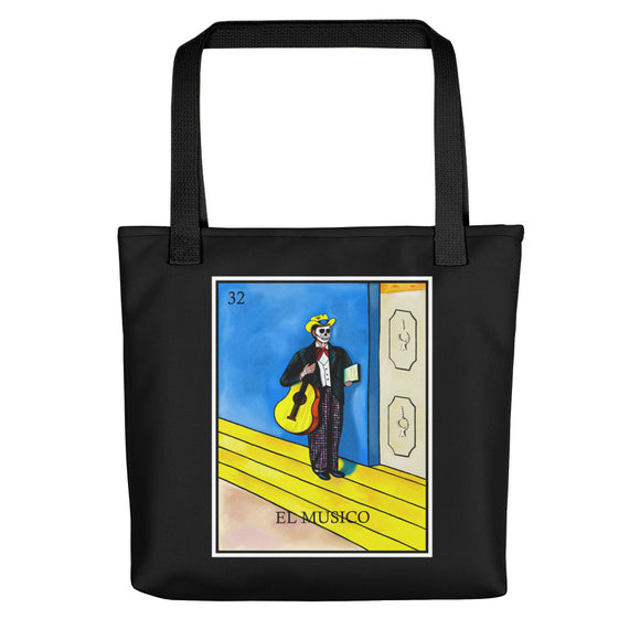 El Musico Loteria All-Over Tote bag
