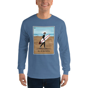 El Surfista Men's Long Sleeve T-Shirt
