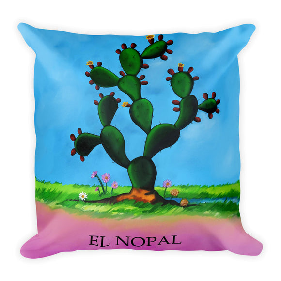 El Nopal Loteria Pillow