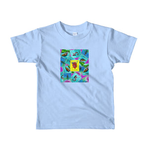 Las Damas Corazon Loteria All-Over kids t-shirt