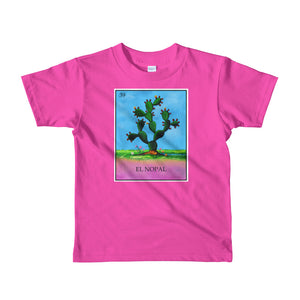 El Nopal Loteria kids 2-6 yrs t-shirt