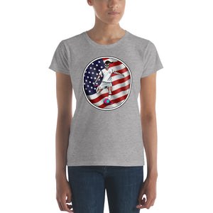 La Futbolista Circle US Women's t-shirt
