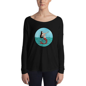 La Sirena Circle Ladies' Long Sleeve Tee