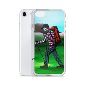 El Senderista (Hiker) Loteria iPhone Case