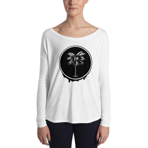 Palma Drip Women's Long Sleeve Tee