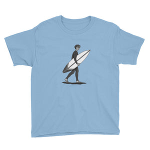 El Surfista B&W Plain Boy's T-Shirt