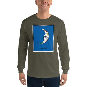 La Luna Loteria Mens Long Sleeve T-Shirt