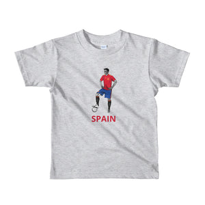 El Futbolista Spain kids 2-6 yrs t-shirt